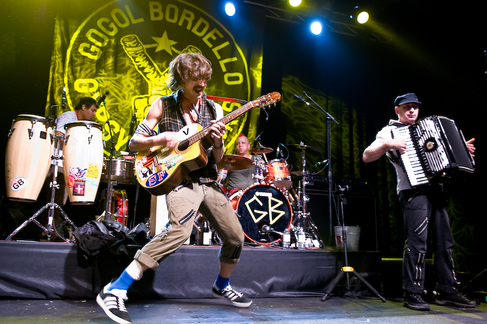 Going Live: Gogol Bordello
